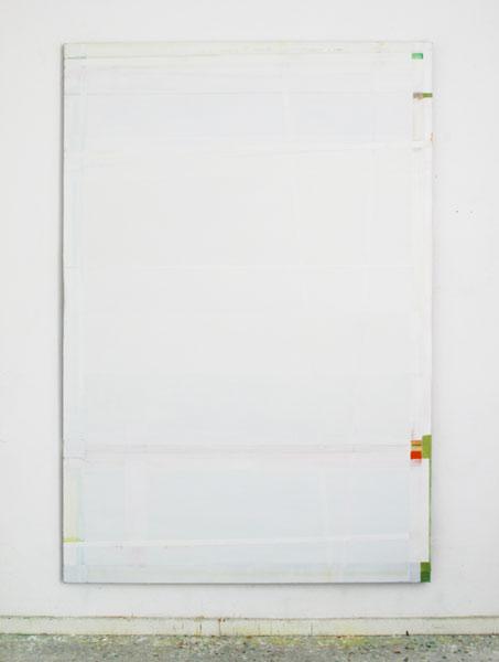 beide Bilder o.T. 220 x 150 cm, Acryl und Öl auf Leinwand, 2014