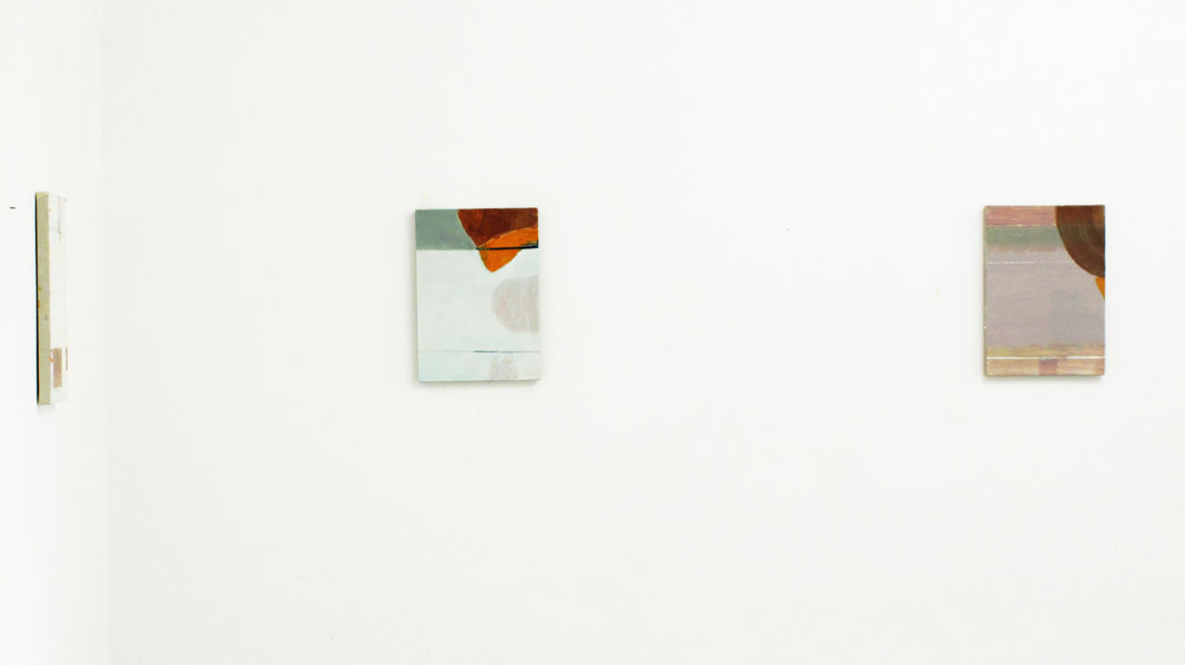alle Bilder o.T. 34 x 24 cm, Öl auf Leinwand, 2014                      scroll right  →   →   →