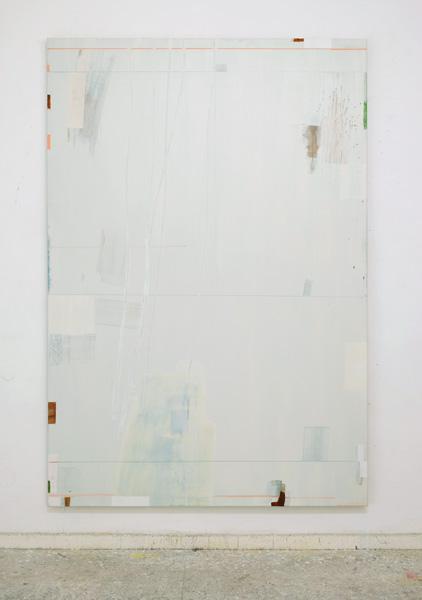 O.T. 220 x 150 cm Öl auf Leinwand 2016