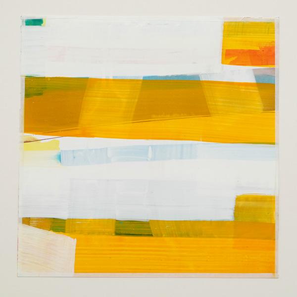 O.T. 24 x 24 cm Gouache auf Papier 2016
