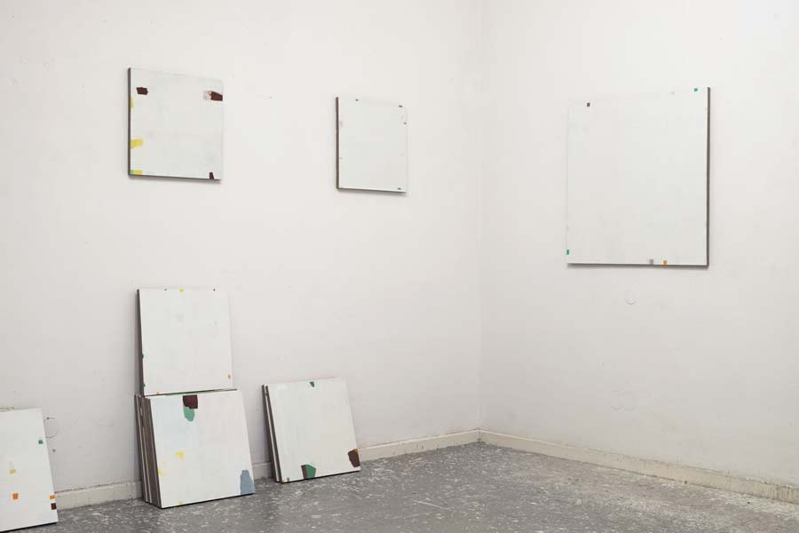 O.T., 45 x 45 cm und 80 x 80 cm, Öl auf Leinwand, 2016